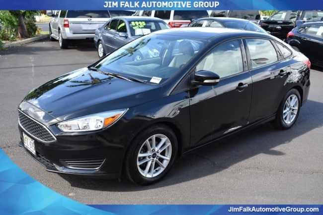 Discounted bargain used vehicle 2015 Ford Focus SE Sedan for sale near you in Kahului, HI