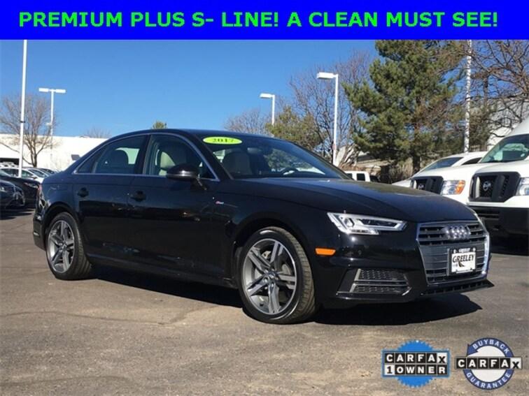 Used 2017 Audi A4 For Sale Longmont Co Boulder G1445