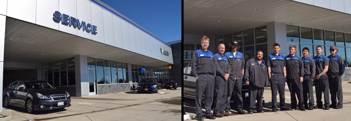 Subaru Service Center in Longmont, CO