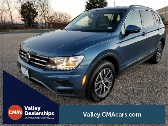 Certified pre-owned 2018 Volkswagen Tiguan 2.0T SUV for sale in Staunton, VA