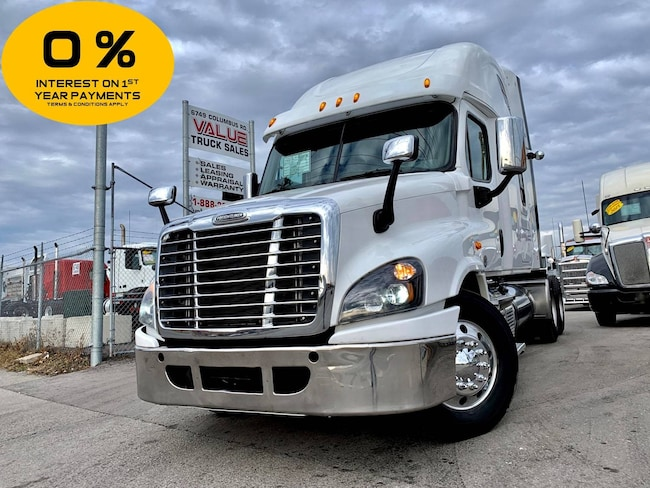 2015 FREIGHTLINER Cascadia DD15 | 13 Speed Manual | 455HP