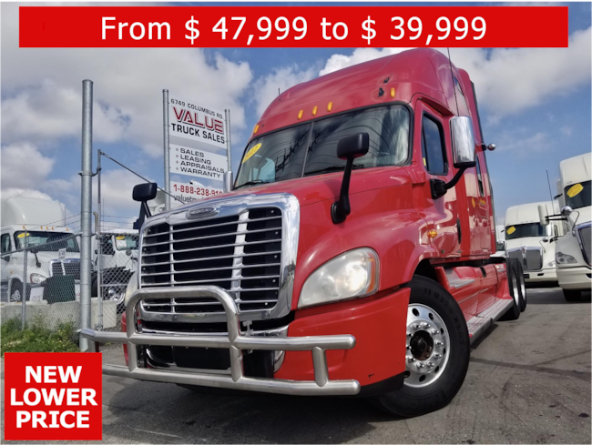 2012 FREIGHTLINER Cascadia NEW LOWER PRICE