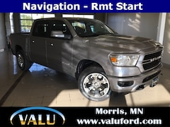 New Chrysler, Dodge, Jeep, Ram & Ford 2019 Ram 1500 Big Horn Truck Crew Cab for sale in Morris, MN
