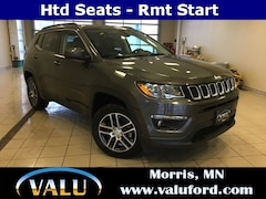 New Chrysler, Dodge, Jeep, Ram & Ford 2019 Jeep Compass Latitude 4x4 SUV for sale in Morris, MN