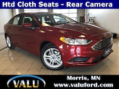 New Chrysler, Dodge, Jeep, Ram & Ford 2018 Ford Fusion SE Sedan for sale in Morris, MN