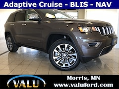 New Chrysler, Dodge, Jeep, Ram & Ford 2018 Jeep Grand Cherokee Limited 4x4 SUV for sale in Morris, MN