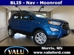 New Chrysler, Dodge, Jeep, Ram & Ford 2018 Ford EcoSport SE SUV for sale in Morris, MN