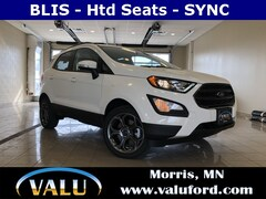 New Chrysler, Dodge, Jeep, Ram & Ford 2018 Ford EcoSport SES SUV for sale in Morris, MN
