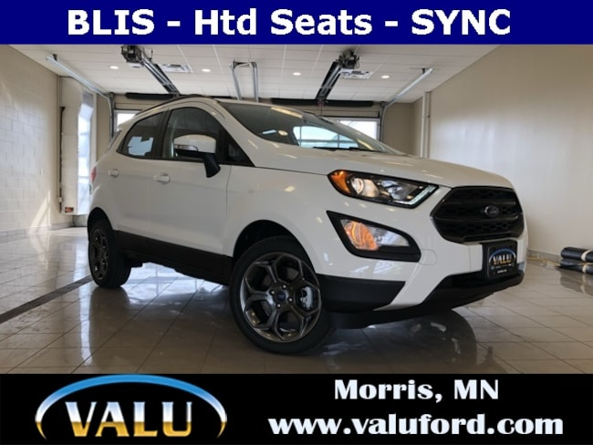 New  2018 Ford EcoSport SES SUV for sale in Morris, MN