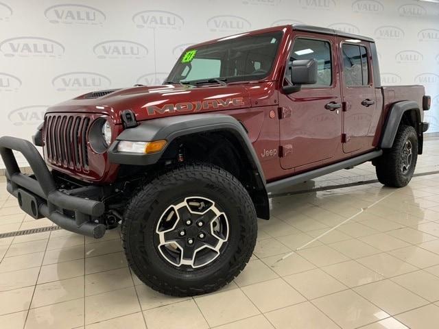 Used 2021 Jeep Gladiator Mojave with VIN 1C6JJTEG5ML554512 for sale in Morris, Minnesota