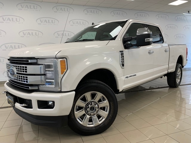 Used 2019 Ford F-250 Super Duty Platinum with VIN 1FT7W2BT4KEE94885 for sale in Morris, Minnesota