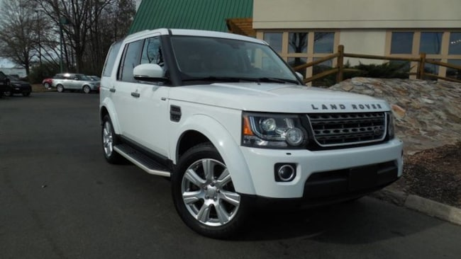 Certified 2016 Land Rover LR4 HSE SUV for sale in Midlothian, VA near Richmond, VA.