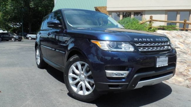 Certified 2015 Land Rover Range Rover Sport HSE SUV for sale in Midlothian, VA near Richmond, VA.