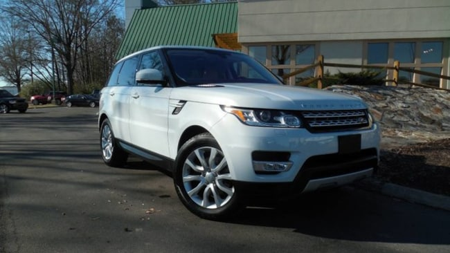 Certified 2016 Land Rover Range Rover Sport V6 HSE SUV for sale in Midlothian, VA near Richmond, VA.