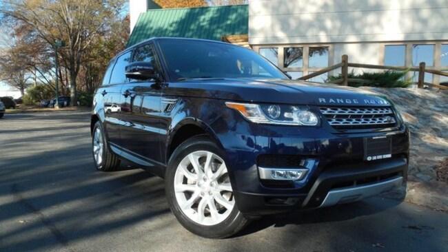 Certified 2015 Land Rover Range Rover Sport HSE SUV for sale in Midlothian, VA near Richmond, VA.