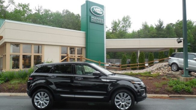 Certified 2016 Land Rover Range Rover Evoque HSE SUV for sale in Midlothian, VA near Richmond, VA.