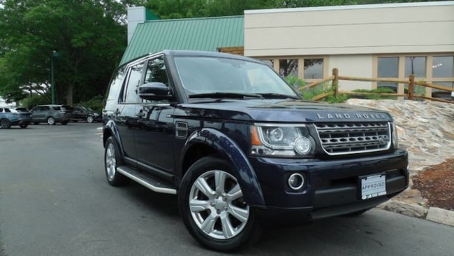 Certified 2015 Land Rover LR4 HSE SUV for sale in Midlothian, VA near Richmond, VA.