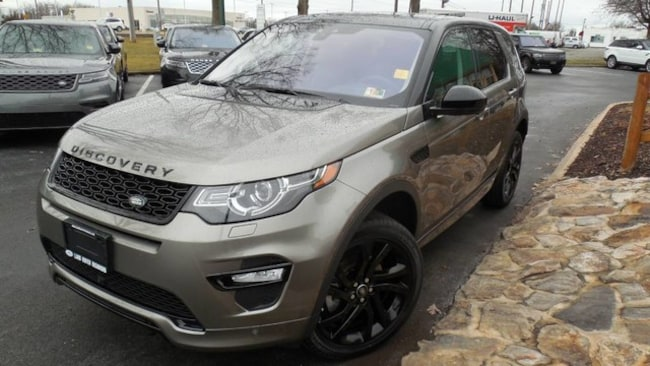 Used 2018 Land Rover Discovery Sport HSE Dynamic SUV for sale in Midlothian, VA near Richmond, VA.