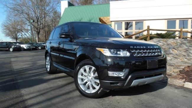 Certified 2016 Land Rover Range Rover Sport V6 HSE SUV for sale in Midlothian, VA near Richmond, VA.