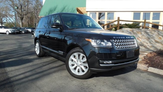 Certified 2015 Land Rover Range Rover HSE SUV for sale in Midlothian, VA near Richmond, VA.