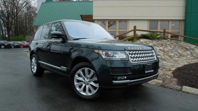 Used 2016 Land Rover Range Rover HSE SUV for sale in Midlothian, VA near Richmond, VA.