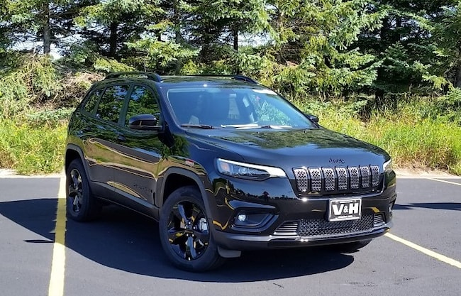 New 2019 Jeep Cherokee ALTITUDE 4X4 Sport Utility for sale in marshfield wi