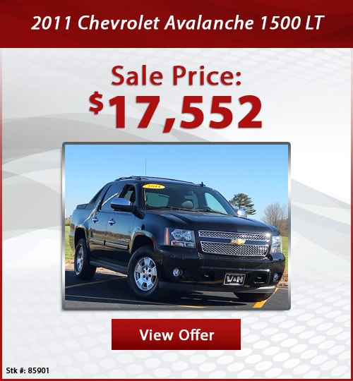 V & H Automotive Used Special 2011 Chevrolet Avalanche 1500 LT Truck