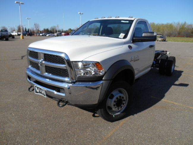 New 2017 Ram 5500 Chassis ST Truck Regular Cab for sale in marshfield wi