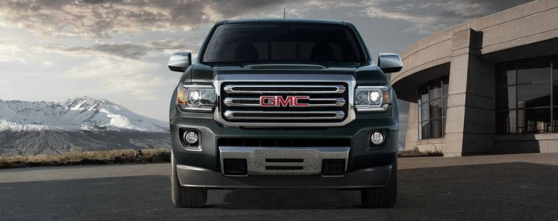2018 GMC Canyon front