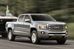 2018 GMC Canyon exterior