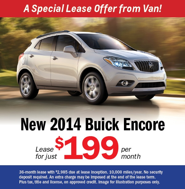 Brooklyn Staten Island Car Leasing Dealer: Buick Encore Lease Deals