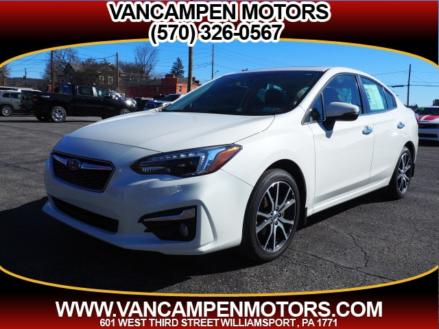 2017 Subaru Impreza Cloth AWD 2.0i Limited  Sedan