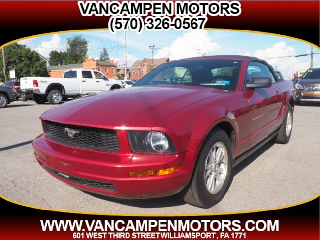 2007 Ford Mustang Cloth V6 Deluxe  Convertible
