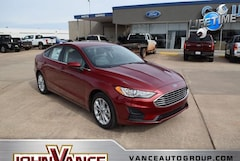 New Ford Cars 2019 Ford Fusion SE Sedan 3FA6P0HD3KR171279 near Edmond OK