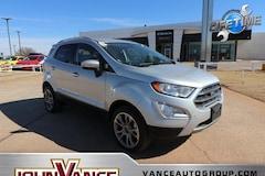 Used Cars 2018 Ford EcoSport Titanium SUV MAJ6P1WL1JC190068 near Edmond OK