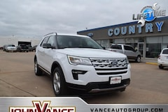 New Ford Cars 2019 Ford Explorer XLT SUV 1FM5K7DH6KGB53285 near Edmond OK