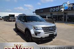 New Ford Cars 2019 Ford Explorer XLT SUV 1FM5K7DH8KGB53286 near Edmond OK