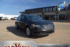 New Ford Cars 2018 Ford Fusion Hybrid SE Sedan 3FA6P0LU7JR284898 near Edmond OK