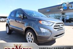 New Ford Cars 2018 Ford EcoSport SE Crossover MAJ6P1ULXJC228996 near Edmond OK