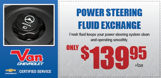 Power Steering Service Coupon Scottsdale Chevy Service Center Near Phoenix