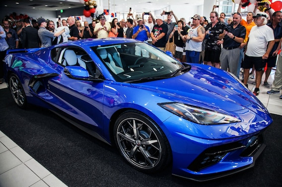 2020 Chevy Corvette C8 Van Chevrolet In Scottsdale Serving