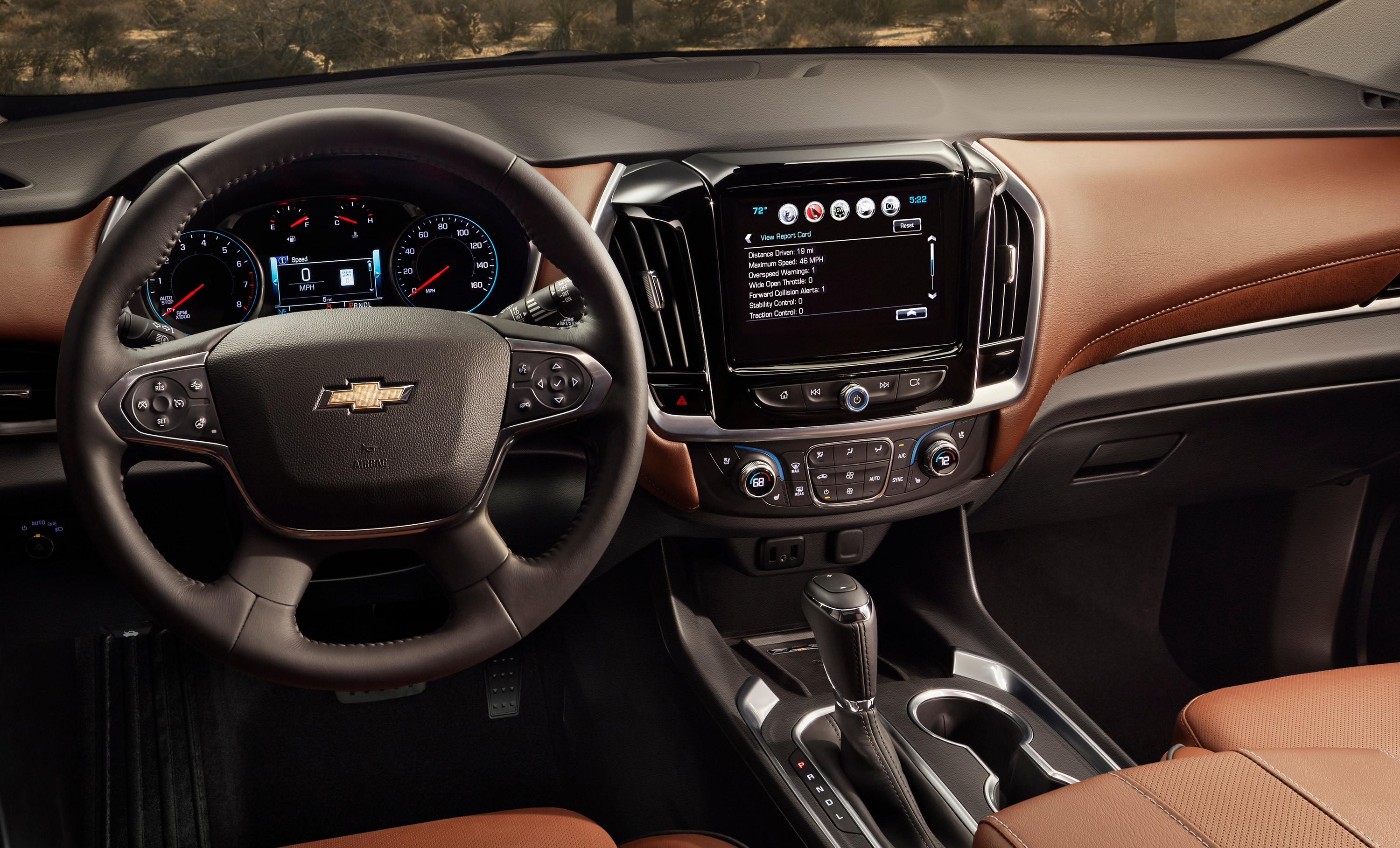 2018 Chevy Traverse interior photo