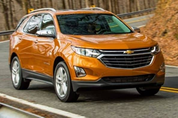 new 2018 chevy equinox gets a new look