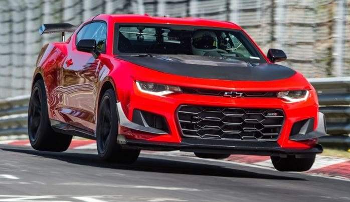 New Chevy Camaro ZL1 1LE Sets New Record