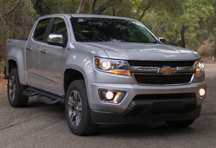 2017 chevy colorado features and specs