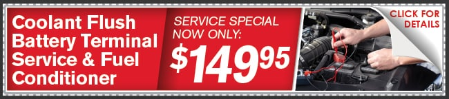 COOLANT FLUSH BATTERY TERMINAL SERVICE & FUEL CONDITIONER  Coupon, Kansas City