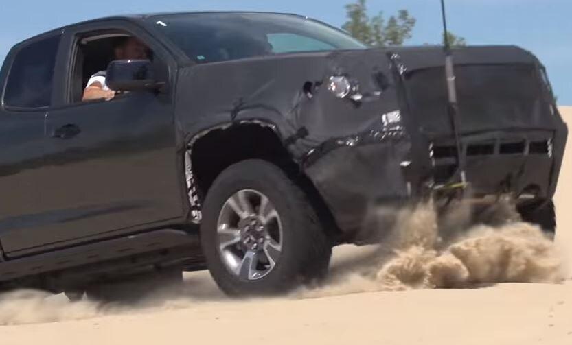 2017 Chevy Colorado ZR2 tackles the Arizona desert