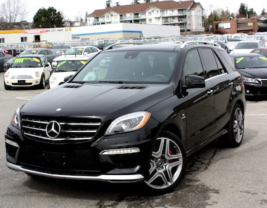 2013 Mercedes-Benz M-Class ML63 AMG AWD NAV FULL LOAD SUV
