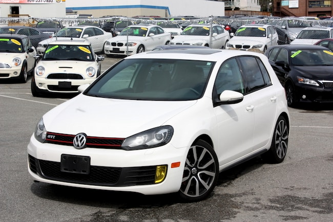 2013 Volkswagen Golf GTI 6 spd LEATHER 5 door Hatchback