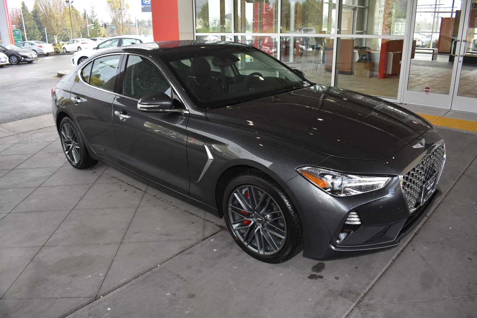Car Dealerships Vancouver Wa >> New 2019 Genesis G70 For Sale In Vancouver Wa Stock 19g7015